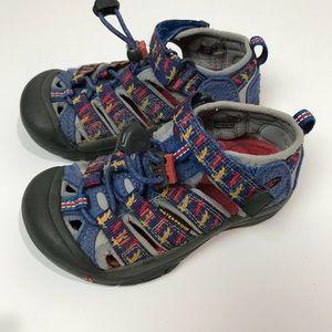 "Keen waterproof sandal "" lizard "" toddle 10"